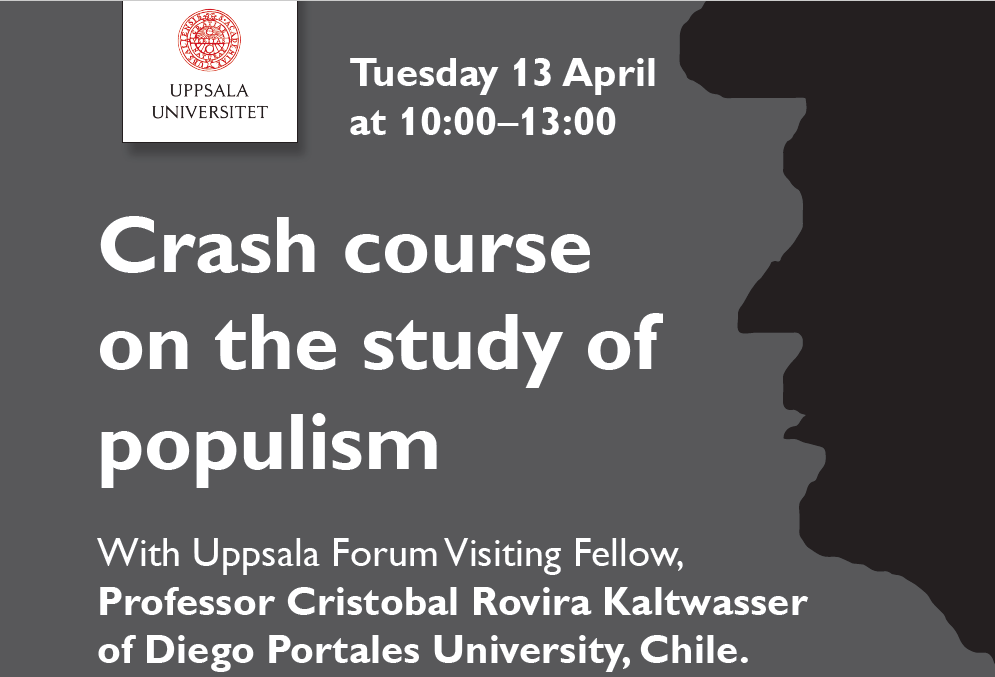 Workshop: Crash course on the study of populism